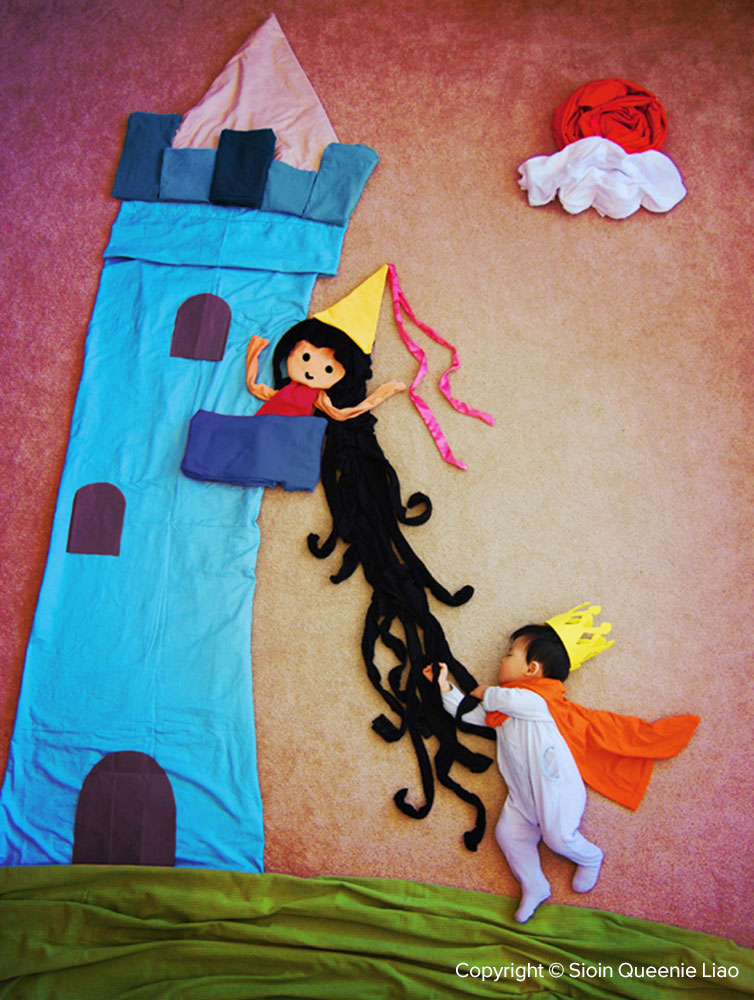 The Brave Little Prince Saves Rapunzel