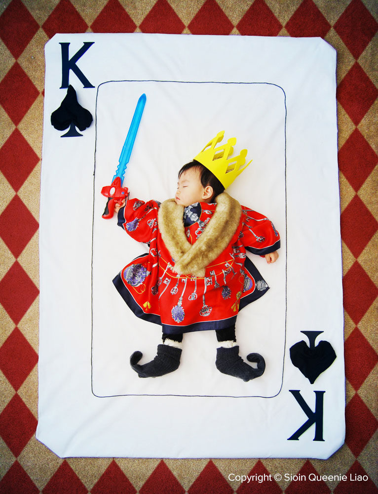 Wengenn-The-Mighty-King-of-Spades1000 Wengenn In Wonderland, Foto Bayi Lucu dan Unik Yang Bisa Bunda Tiru  wallpaper